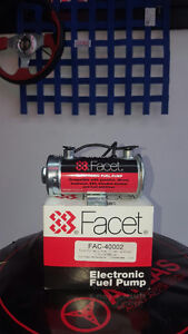 Facet Cylindrical Style 12 Volt Fuel Pump, 2.75 to 4 max psi