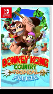 Selling Donkey Kong: Tropical Freeze Switch