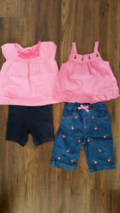 12 Month Summer Clothes Lot