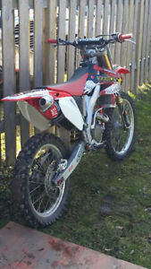 Crf250r trade for 450