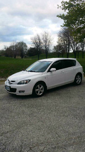 2008 Mazda 3 Sport, great on gas, very clean.