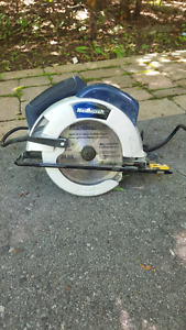 MUST SELL!! Mastercraft Package Circular saw and Nailgun Peterborough Peterborough Area image 2