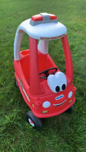 Little Tikes Ride On Fire Truck