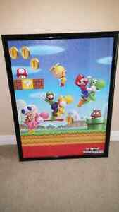 Super mario plaques and pictures Kitchener / Waterloo Kitchener Area image 3