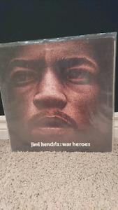 "Jimi Hendrix  ""war heroes"" vinyl"