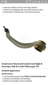 Front Lower Control Arm Right side  RH Audi et WV