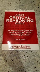 Brand New Never Used GMAT Critical Reasoning Bible