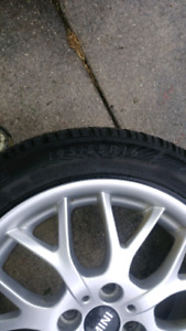 Mag wheels for MINI ROADSTER and tires