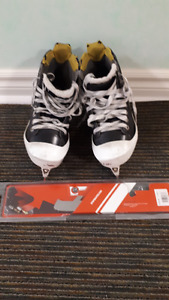 Bauer Supreme One80 Goalie Skates (size 4.5) and extra StepSteel