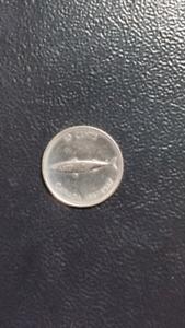 1967 Canadian Centennial Dime coin