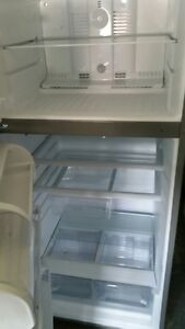 whirlpool stainless fridge
