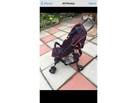Hauk buggy with rain cover