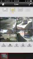 Remote View Setup for video security camera system