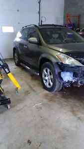PARTING OUT 2004 NISSAN MURANO AWD