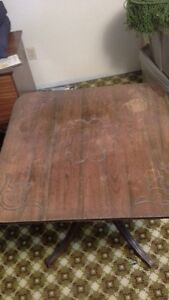 Tilting Antique Table