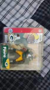Brett Farve Green Bay Packers Acton Figure