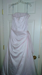 Gorgeous pink gown worn once EUC