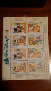 16 Winnie the Pooh 25th Anniversary Stamps and Story