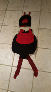 Lady Bug Halloween Costume 12 to 18 months