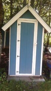 Garden / Tool Shed - Solid Wood Construction