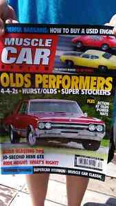 Muscle car review magazines