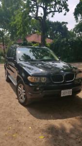 BMWX5 2004 Black