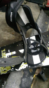 Liquid Snowboard, Burton Custom Bindings Peterborough Peterborough Area image 2