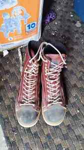 Ironwookers steel toe boots
