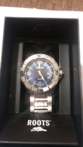 Men's Roots Watch Like New with Warranty