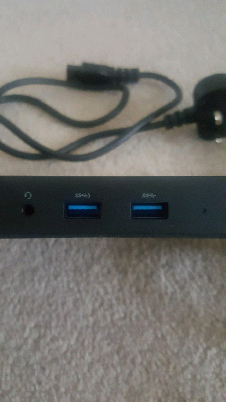 Dell Dock WD15 (USB Type-C) plus Power Supply - Brand New £55 ono | in  Hamilton, Leicestershire | Gumtree