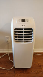 LG 8,000 BTU Portable Air Conditioner with Remote
