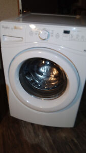 Used Whirlpool Duet Front Load Washer and Electric Dyer