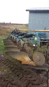 5-furrow Overum plow
