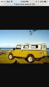 Buying land rovers and parts