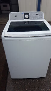 2 Like new washers with glass lids 300.00, Delivery available