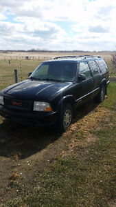 2000 GMC Jimmy for sell or trade.