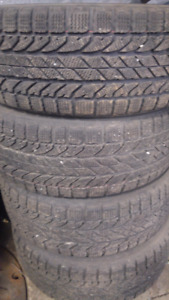 4 BF Goodrich winter slalom tires 205/55R16