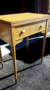 Mid-Century Modern sewing table