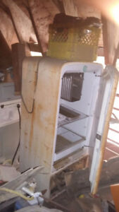 2 Antique Classic Mini Fridges