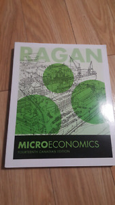 Microeconomics 14th edition Ragan