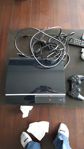 Ps3 40 gb $75! Only obo