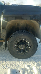 2500 Duramax  rims and tires