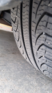 """16"""" rims and all season tires."""