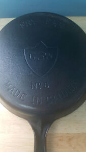 GSW Made In Canada!! #6 Vintage Cast Iron