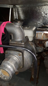 3 inch honda pump with hoses