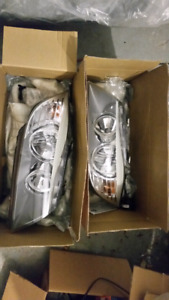 BMW OEM E90 LCI 3 series headlights with LED bulbs
