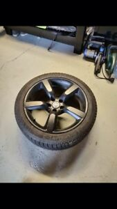 Michelin X-Ice Winter tires and rims 225/45R18