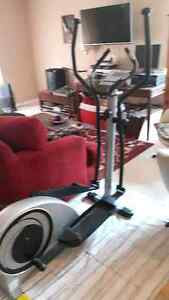 AMAZING DEAL! ELLIPTICAL exercise machine on rollers. Mint cond. Kingston Kingston Area image 1