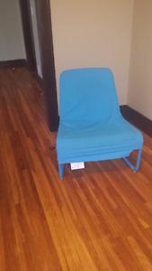 Blue Ikea chair