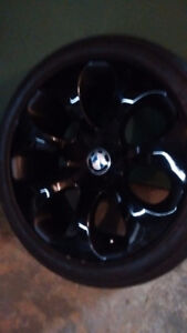 NEW PRICE - BMW rims n tires 2007